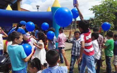 Vinculación a las fiestas, jornada de programa familias con bienestar para la paz