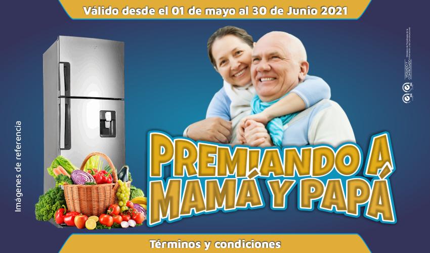 PREMIANDO A MAMÁ Y PAPÁ